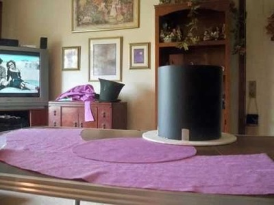 Making the Mad Hatter's Top Hat