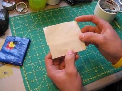 Mini Tutorial - Flip down credit card holders