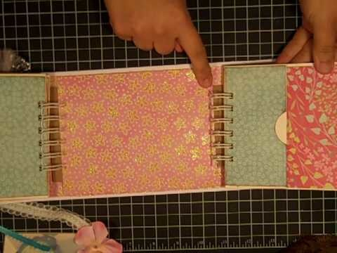 Mother's Day Mini Album Gatefold Style Using the Bind it All