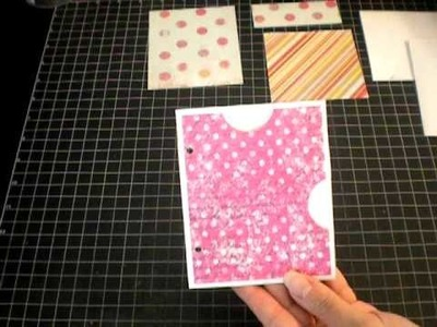 New Envelope Pocket Page Tutorial