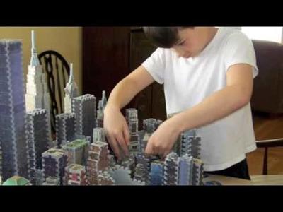 New York City 3d puzzle