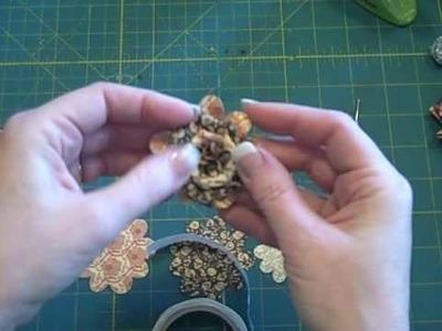 Paper Roses Tutorial:  Part 2