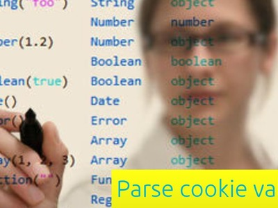 Parsing Cookie Values - JavaScript Tutorial for Beginners