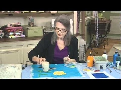 Quilting Arts Workshop Preview - Judy Coates Perez - Design, Paint and Stitch