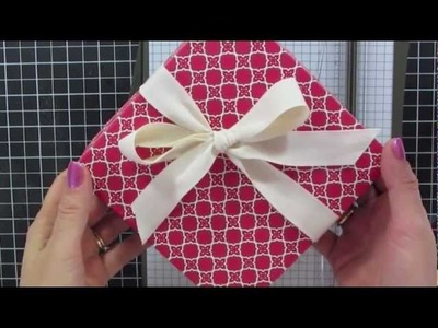 Stampin' Up Holiday Catalog Ornament BOX with Catherine Pooler