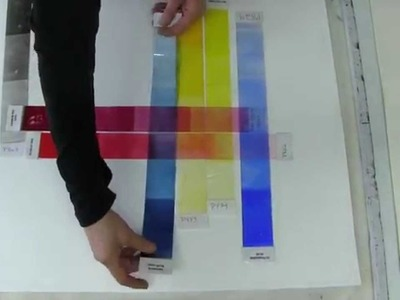 The Printmaker's Palette: Color Overlays with Akua Inks