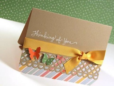 Thinking of You - Make a Card Monday #101