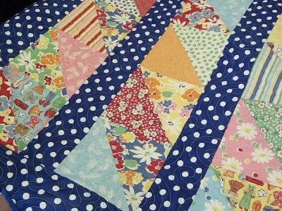 Turnovers - Brand New to Quilting Series - Quilting Tutorial