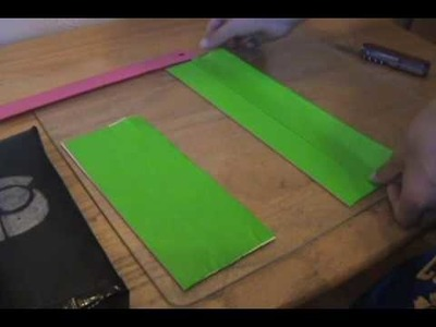 Tutorial on how to make a pencil case PART 1