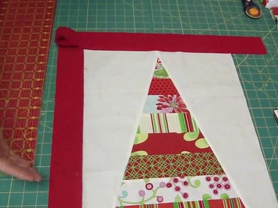 Two Table Topper projects from the Snow Flower Design Roll Part 2.2