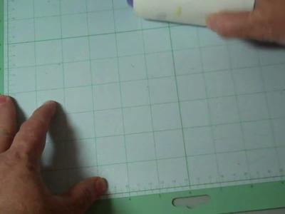 Video #12 - Cricut Mat Cleaning Tip