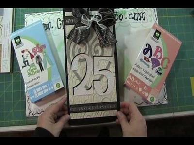 Video#68 25th Wedding Anniversary Card