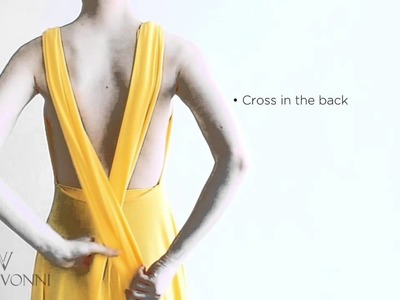Von Vonni Transformer Dress - Instructions.