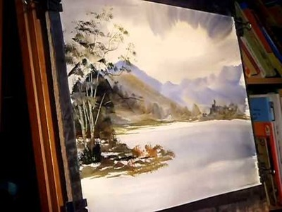 Watercolour Painting Tutorial - Buttermere, Lake District