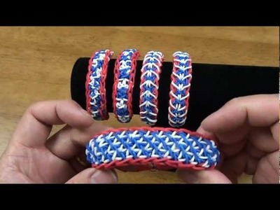 [CLOSED] Name this bracelet - 4th of July (Rainbow Loom®) Rubber Band Bracelet Giveawy Contest 4