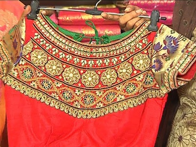 Designer Zardosi Work Blouses Collection
