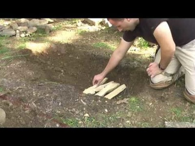 How to make a Fire Bed for Wilderness Survival, Equip 2 Endure