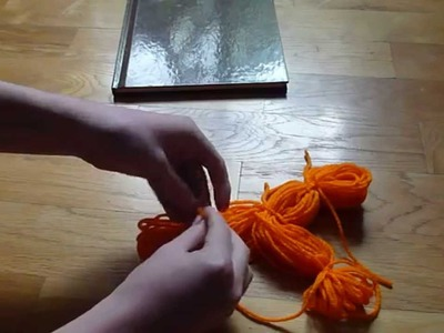How to make a Yarn doll.person