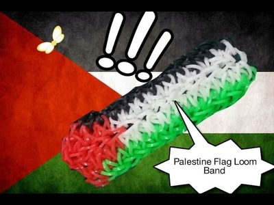 How To Make Palestine Flag Loom Band Groove