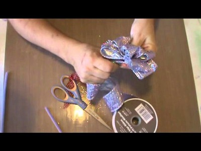 How to: Wire Ribbon Flower Bow