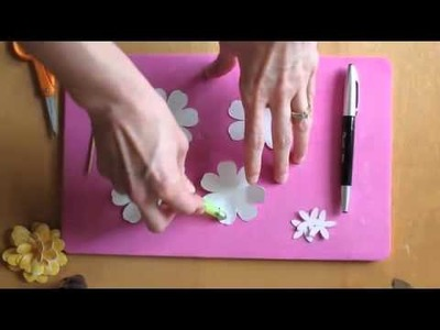 Spring Wreath Paper Flower Tutorial