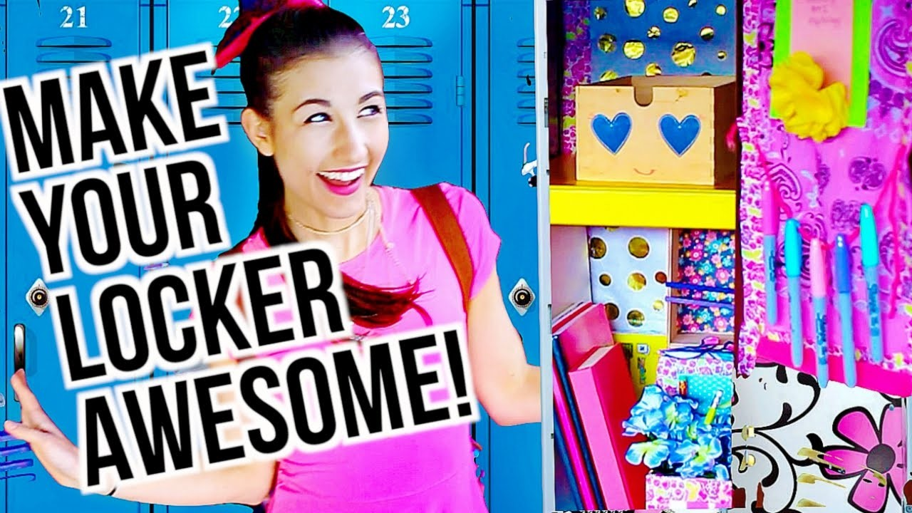 Back To School: DIY Locker Decor Ideas!