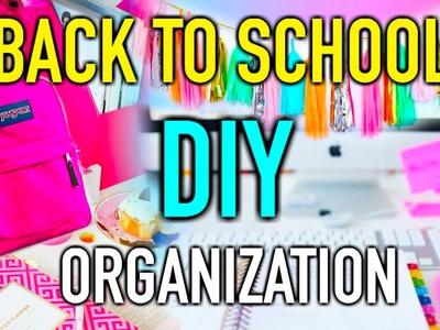 Back to School DIY organization & Supplies