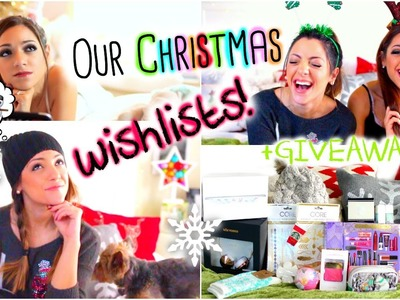 Christmas Wishlists 2014! What we want for Christmas! + HUGE HOLIDAY GIVEAWAY