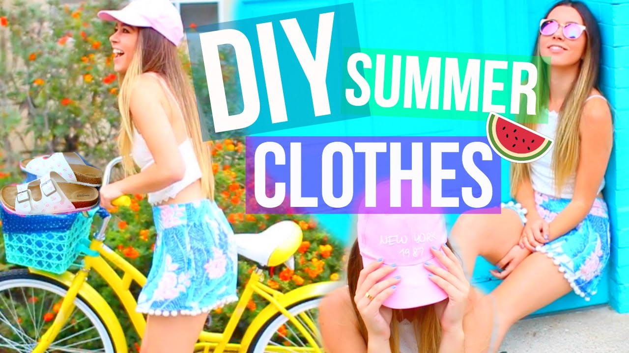 DIY Summer Clothes Tumblr Inspired! Easy & Affordable!