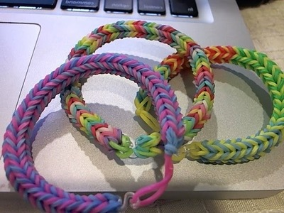 How To: Fishtail Rainbow Loom Bracelet Using Three Pins