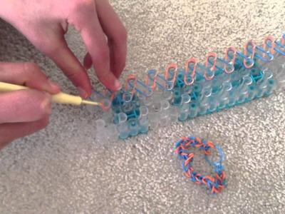 How to make a simple rainbow loom