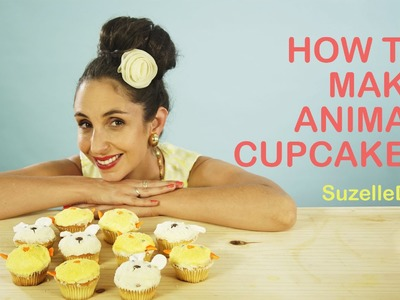 SuzelleDIY - How to Make Animal Cupcakes