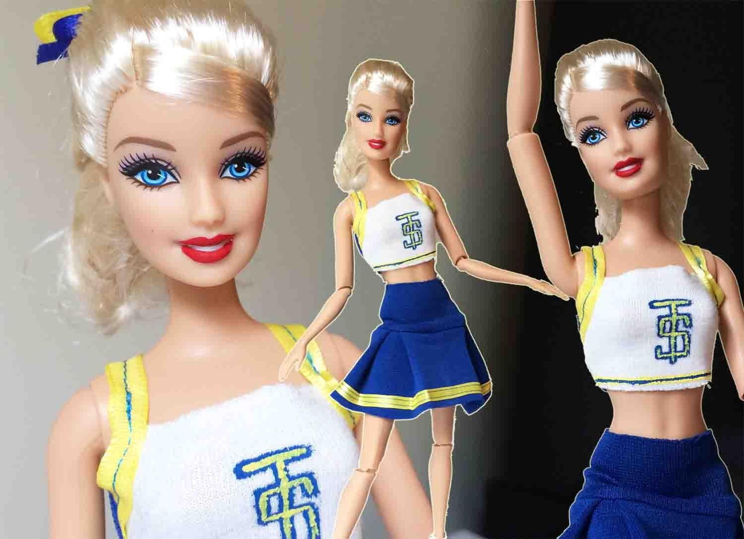Taylor Swift - Shake It Off - Doll Tutorial - How To Make a Taylor Swift Doll Look-alike