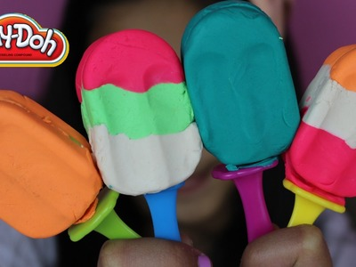 Tuesday Play Doh DIY Colorful Play Doh Popsicles| Play-Doh Ice Lolly