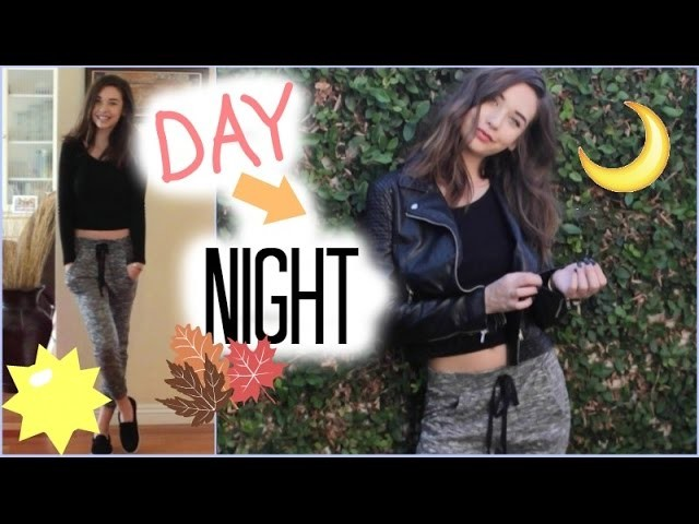 Fall Day to Night Look! (Hair, Makeup, and Outfit!) ♡