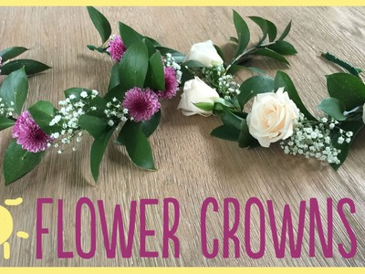 DIY | Flower Crowns (Gorgeous & Easy!!)