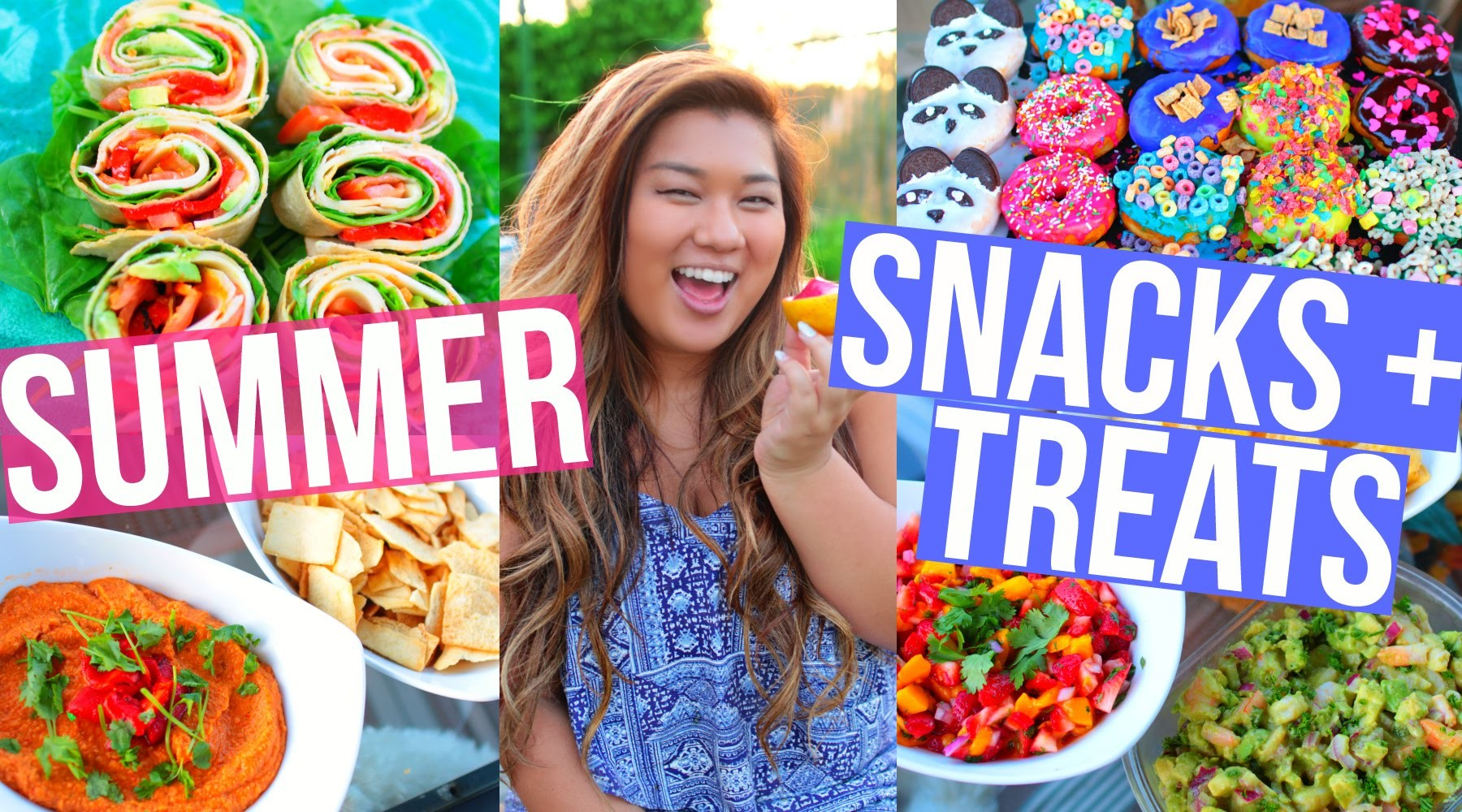 DIY Summer Snacks + Treats! Cute + Easy!