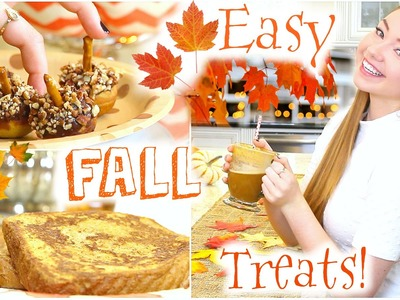 Easy & Fun DIY Fall Treats!