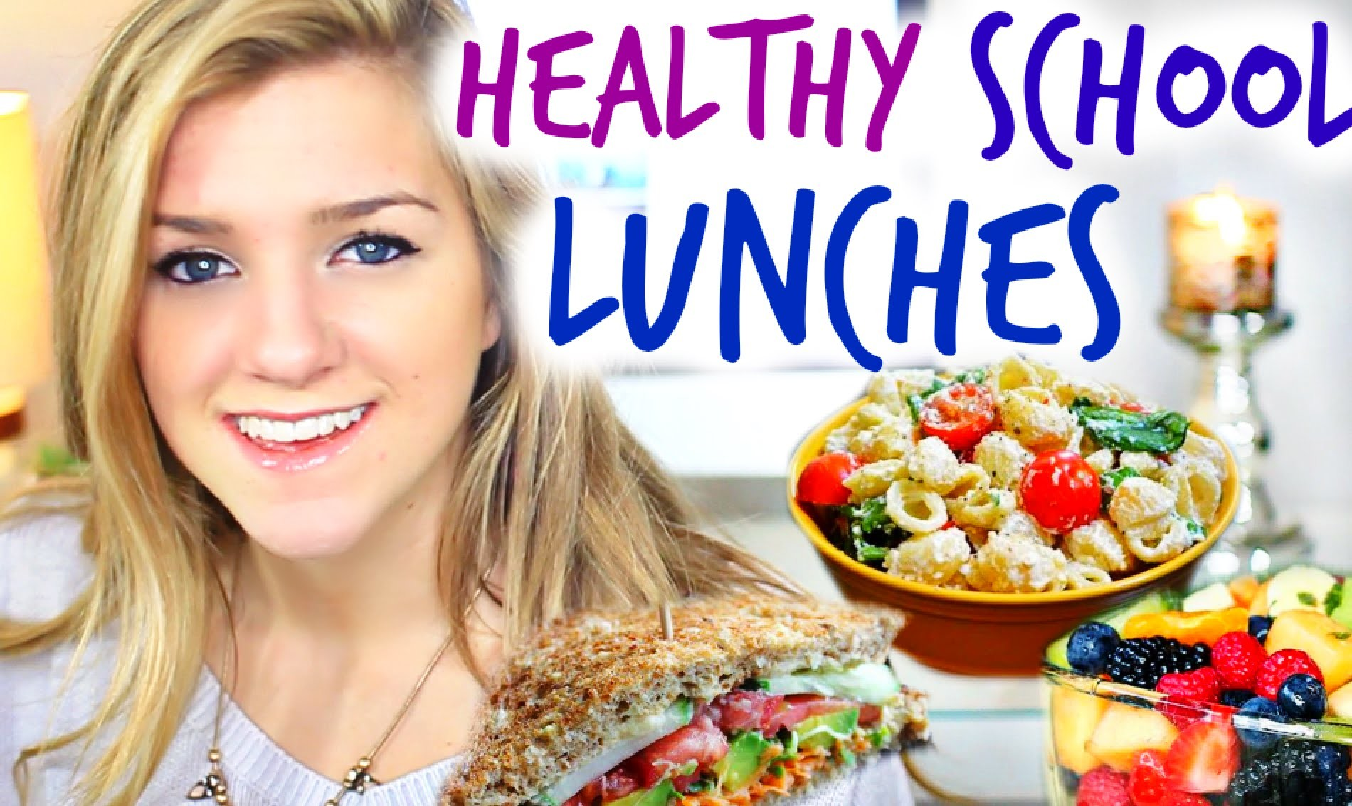 Easy & Healthy School Lunch Ideas!