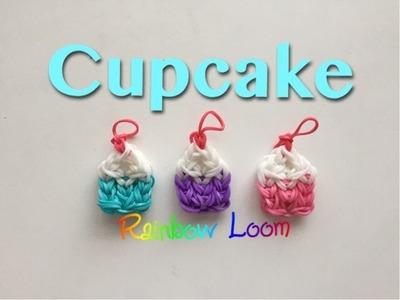 EASY Rainbow Loom Cupcake Charms