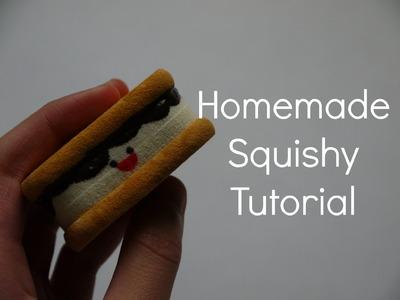 Homemade Squishy Tutorial: Smores
