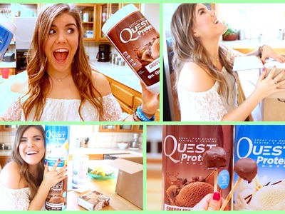 How To: Healthy Cake Pops!! + Unboxing!