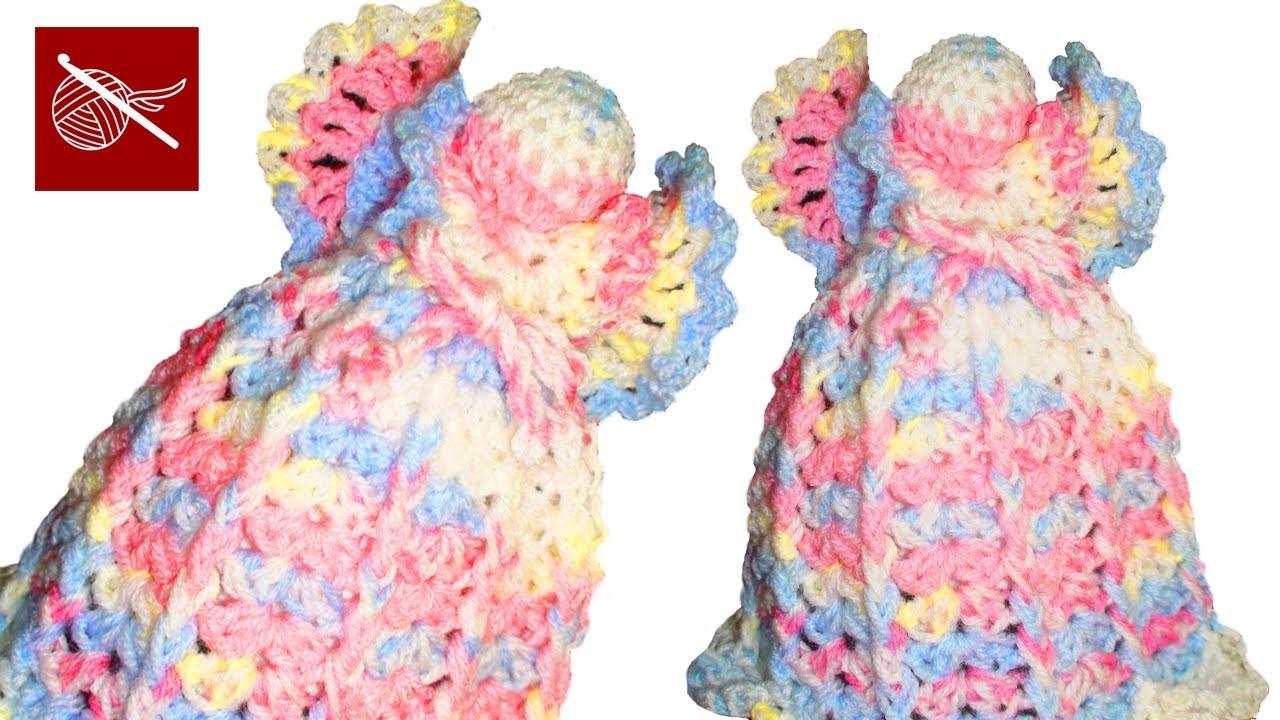 How to make a Crochet Angel Crochet Geek June 23 Video