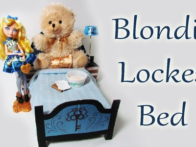 How to make Blondie Lockes' Bed [EVER AFTER HIGH]