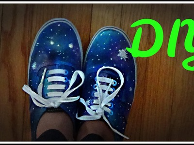 How to Make GALAXY SHOES! -HowToByJordan