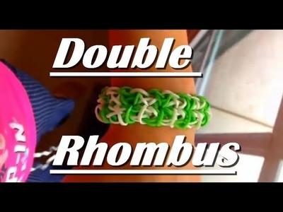 How to Make The Double Rhombus Rainbow Loom Bracelet