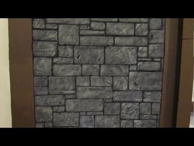Make Medieval Castle Walls from Foam