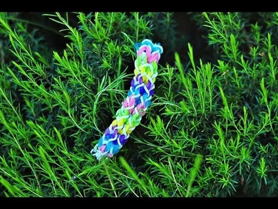 Rainbow Loom - Double Inverted Fishtail -Original Pattern