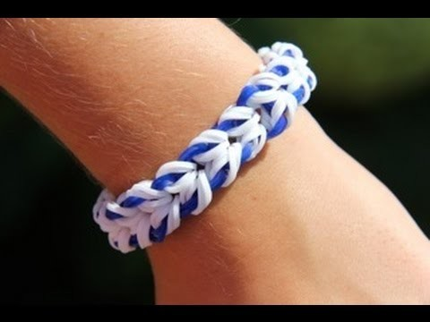 Rainbow Loom - Miami Bracelet (Original Design) Loom bands English Tutorial