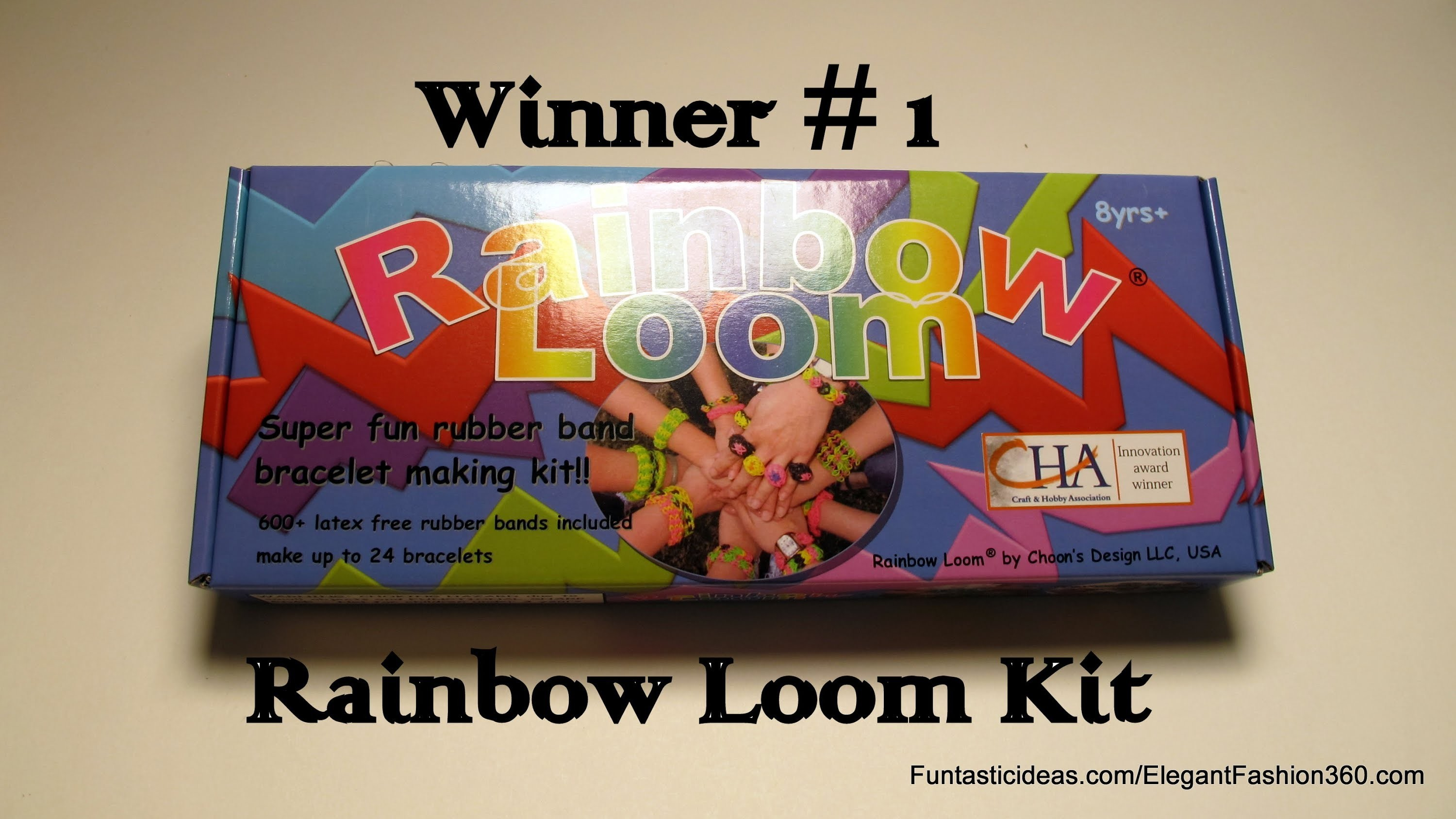 Rainbow Loom Monster Tail and New Metal Hook Reveal (Giveaway Closed))